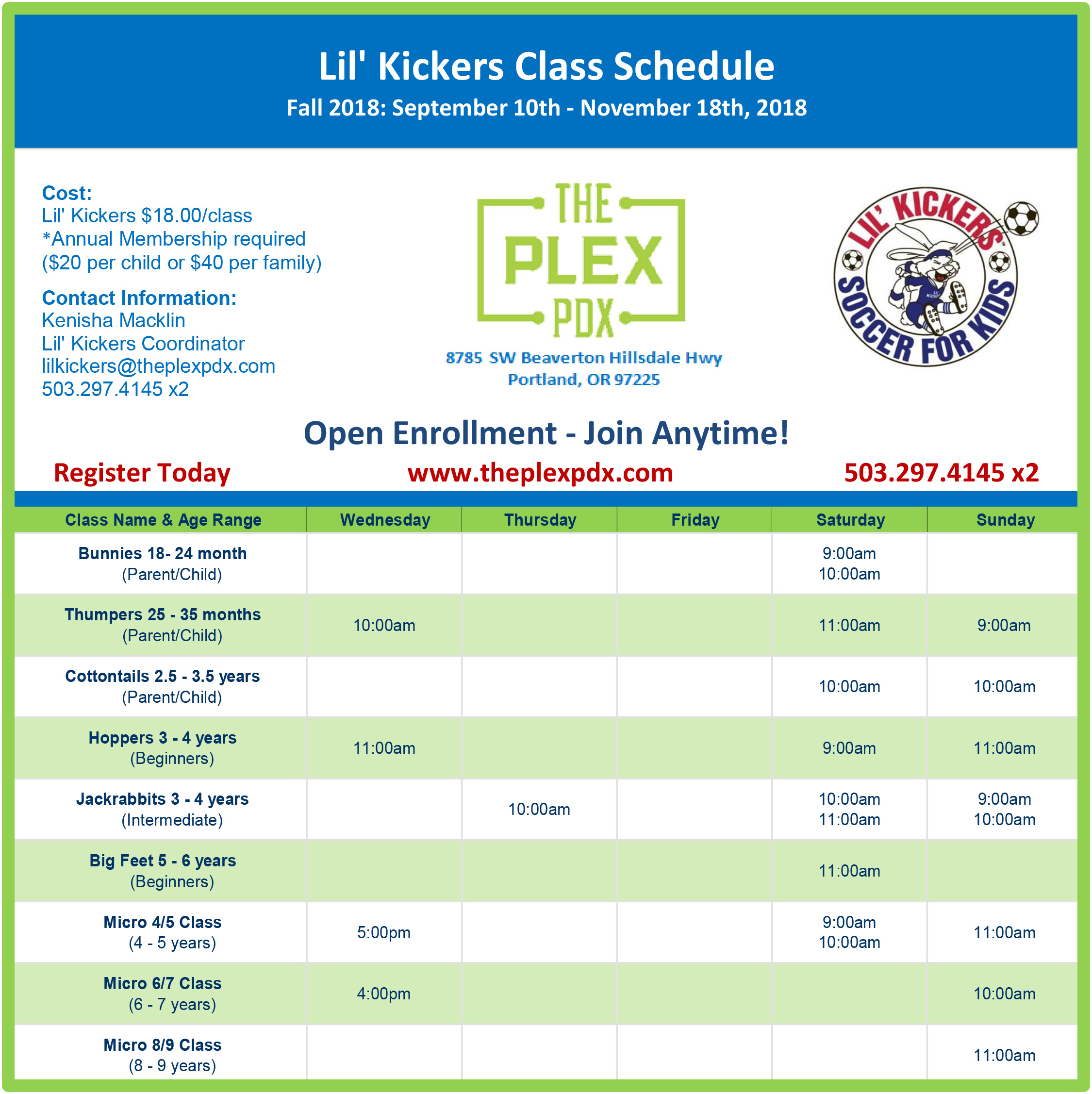 Fall 2018 Plex LK - Website